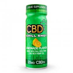 CBD Chill Shot 20 mg - Lemonade (60 ml)