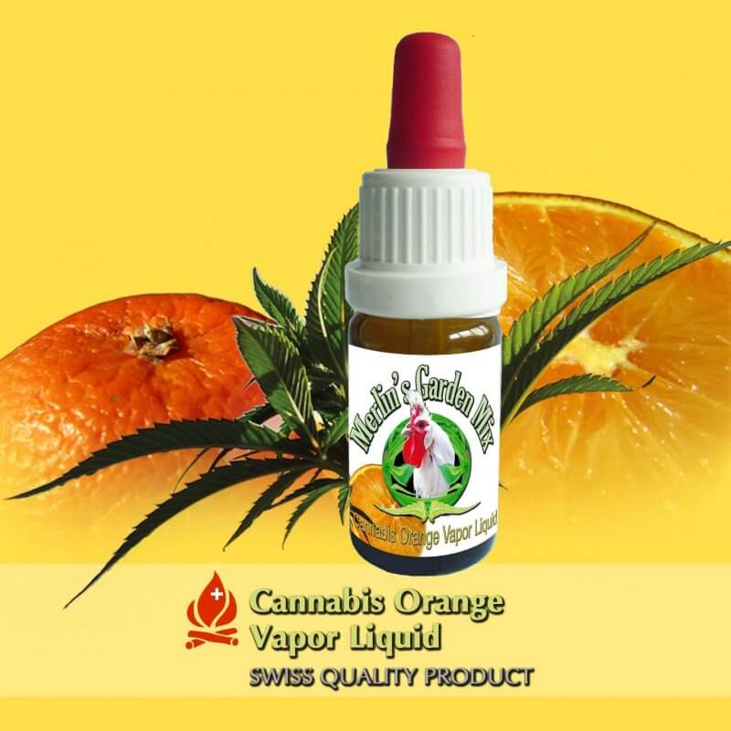 Merlin´s Garden Pure Cannabis + Orange Liquid (10 ml)