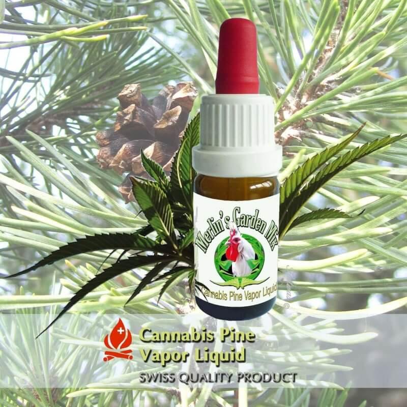 Merlin´s Garden Pure Cannabis + Bergföhre Liquid (10 ml)