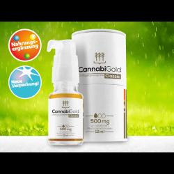 CannabiGold Hanfsamenöl - Nahrungsergänzung