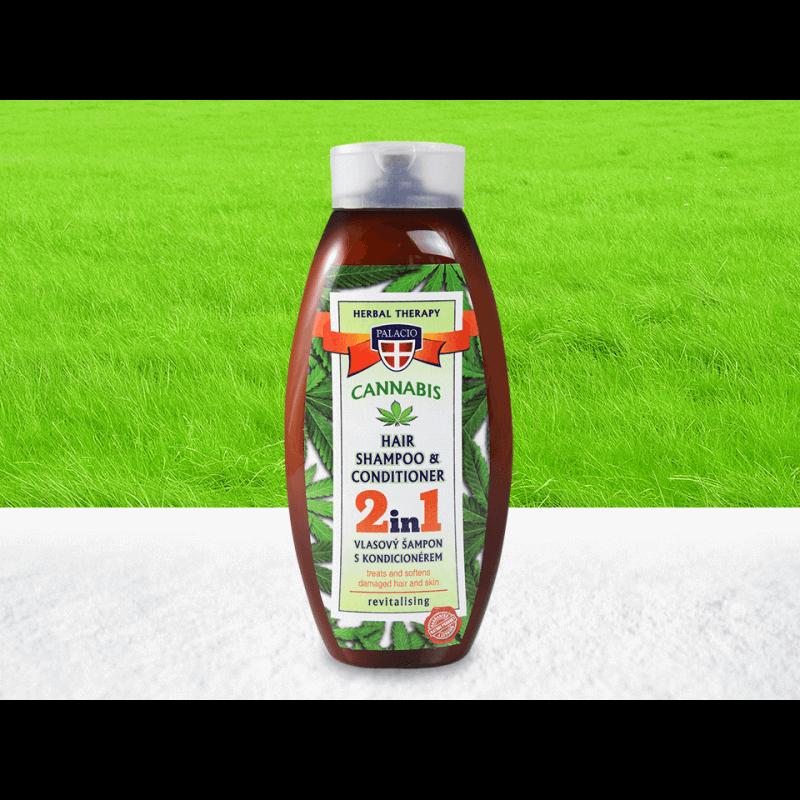 Palacio Cannabis 2in1 Shampoo/Conditioner - 500 ml