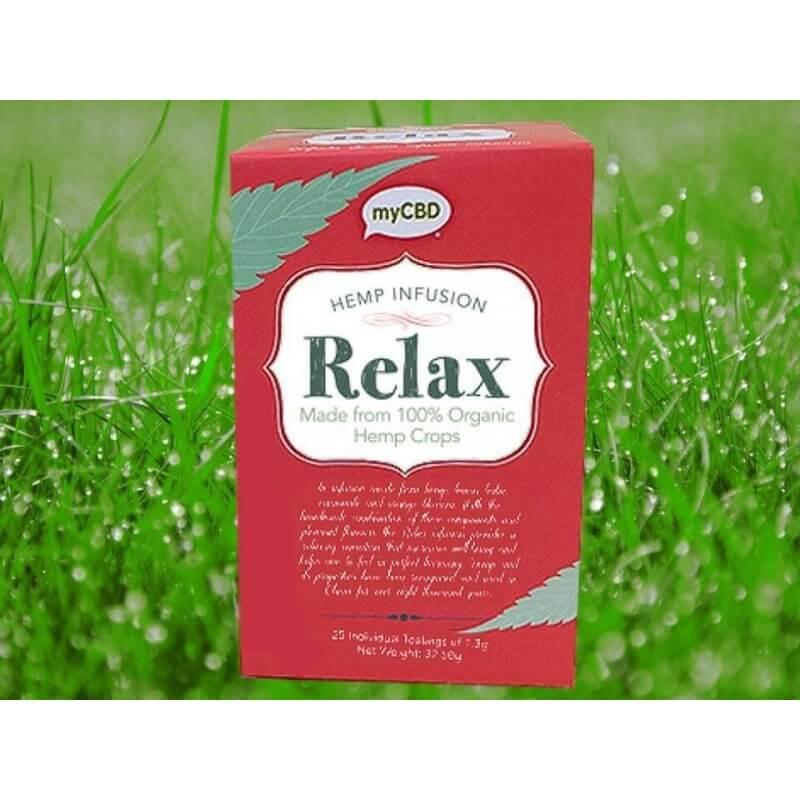 myCBD Hanftee Relax - 25 Teebeutel