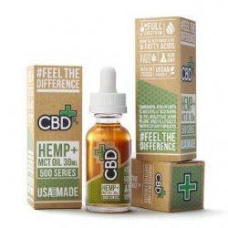 CBD Hemp + MCT Oil Tincture 500 mg (30 ml)