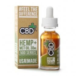CBD Hemp + MCT Oil Tincture 500 mg (30 ml) - Großansicht