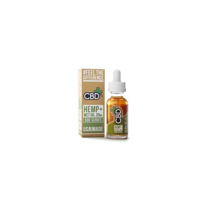 CBD Hemp + MCT Oil Tincture 500 mg (30 ml) - Großansicht