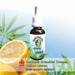 Merlin´s Garden Cannabis Botanical Dreams + Zitrone Liquid (10 ml)