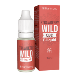 Harmony Wild Strawberry Liquid (10 ml)