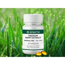 Enecta CBD Kapseln - 1000 mg (30 Stück, 15 g)