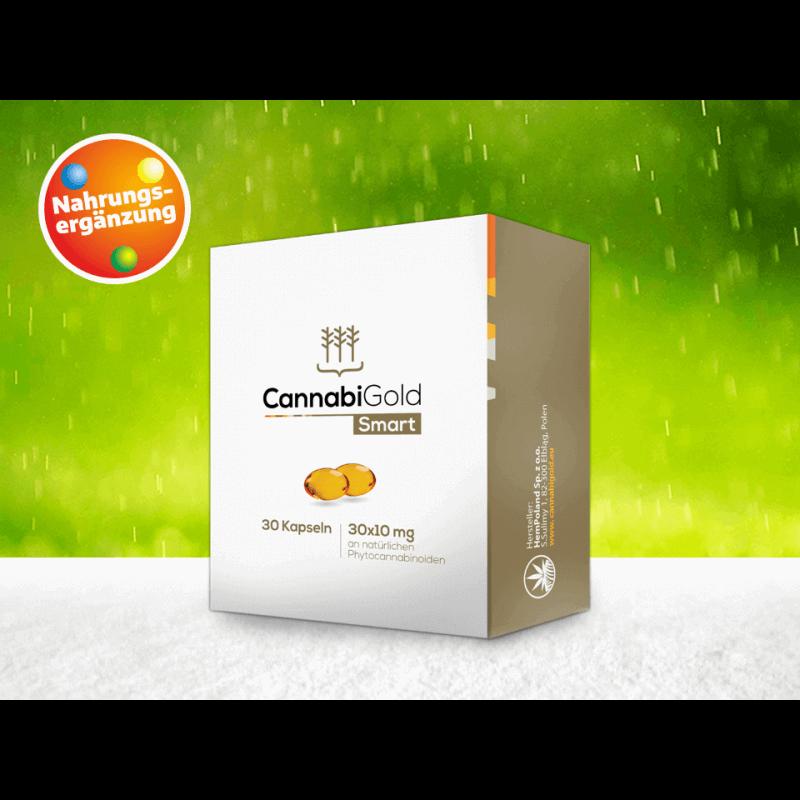 CannabiGold Smart - CBD Kapseln 30 Stück