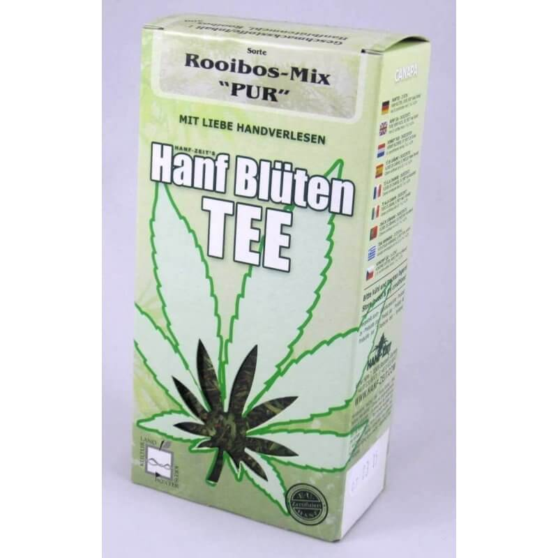 """Hanftee - Rooibos-Mix """"Pur"""" - lose 50 g"""