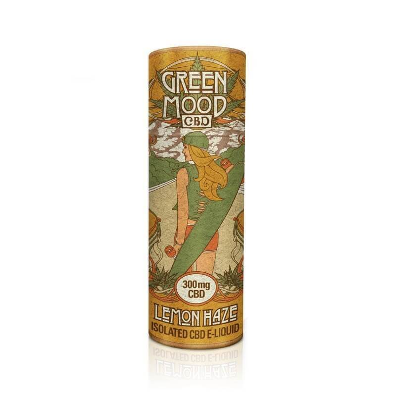 Green Mood - CBD Liquid / Lemon Haze (30 ml)