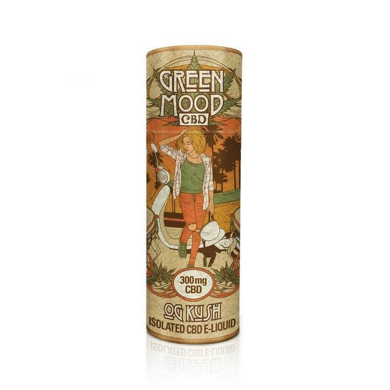Green Mood - CBD Liquid / OG Kush (30 ml)