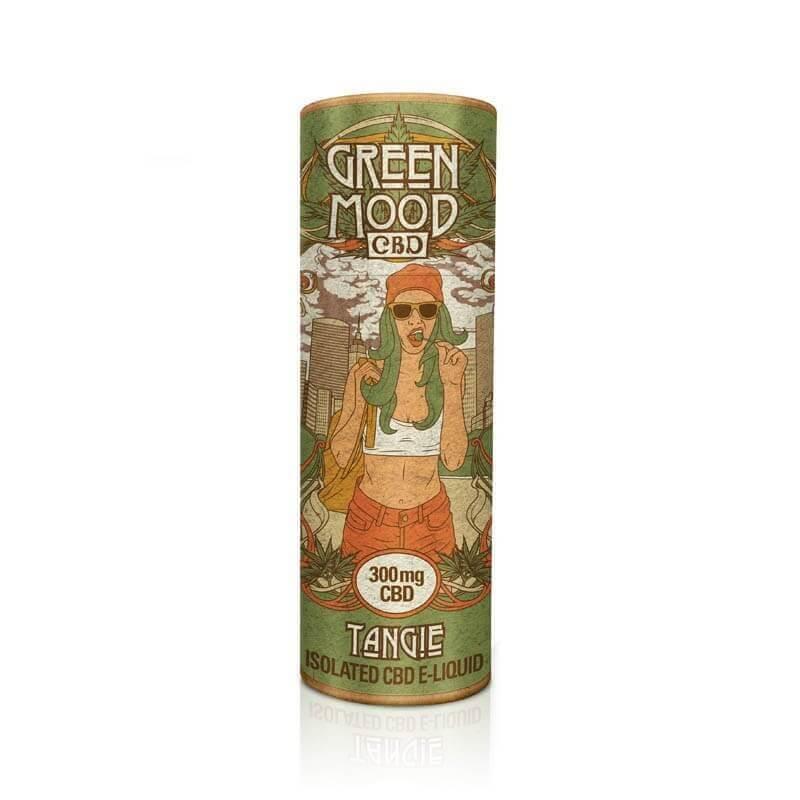 Green Mood - CBD Liquid / Tangie (30 ml)